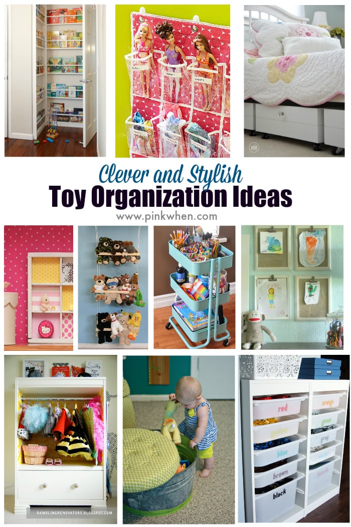 Toy Organization Ideas For Living Room