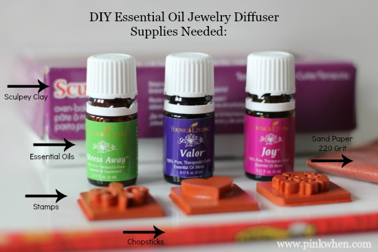 DIY Essential Oil Necklace Diffuser