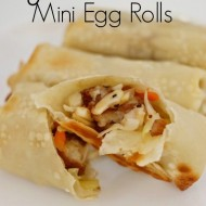 General Tso Mini Egg Rolls