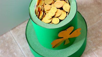 Leprechaun Hat Pot O' Gold