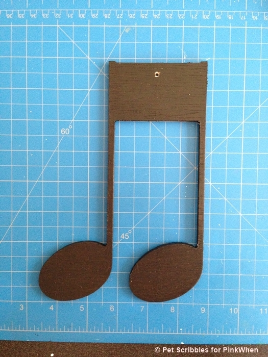 Musical Note Wall Decor