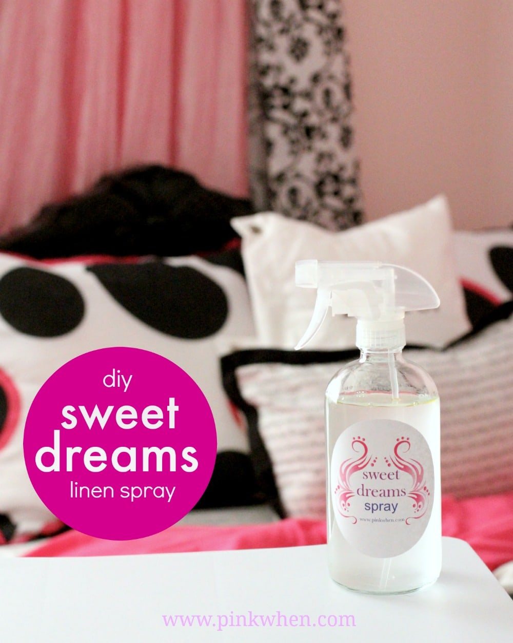 Sweet Dreams DIY Linen Spray