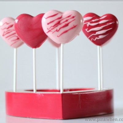 How to Make Easy Valentine Chocolate Heart Pops