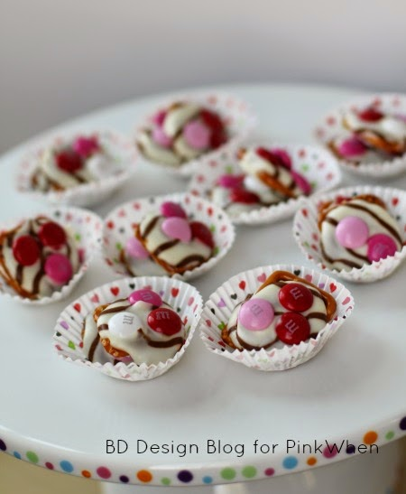 Valentine Chocolate-y Pretzel Yumminess