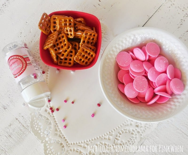 Valentine's Day Pretzel treats