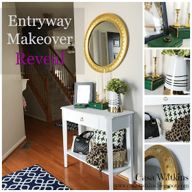 entryway makeover banner