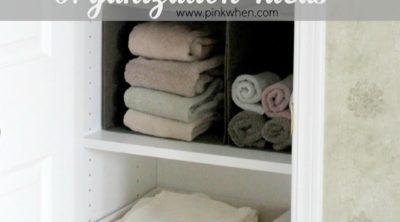 Bathroom Organization ideas www.pinkwhen.com @pinkwhen