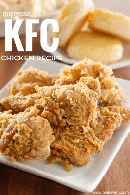 You don't have to leave the house now that you have this copycat KFC chicken recipe.