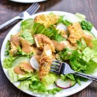 Crispy Coconut Chicken Salad Recipe