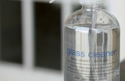 DIY All Natural Glass Cleaner