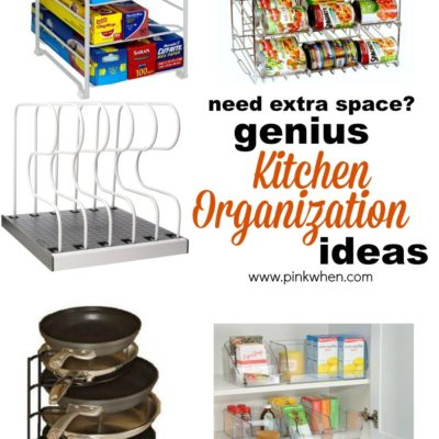 Genius Ideas for Organizing the Kitchen