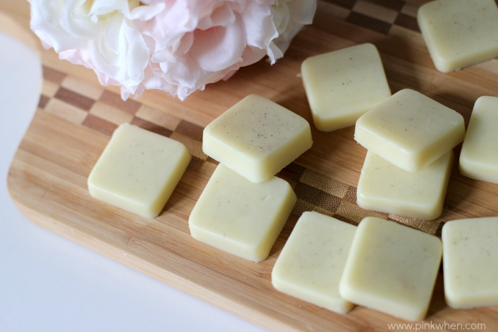 Homemade Lavender Lotion Bars