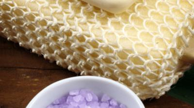 DIY Lavender Salt Scrub www.pinkwhen.com