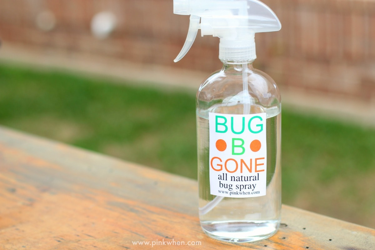 All Natural Bug Spray Pinkwhen