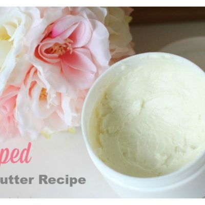 diy Moisturizing Body Butter recipe
