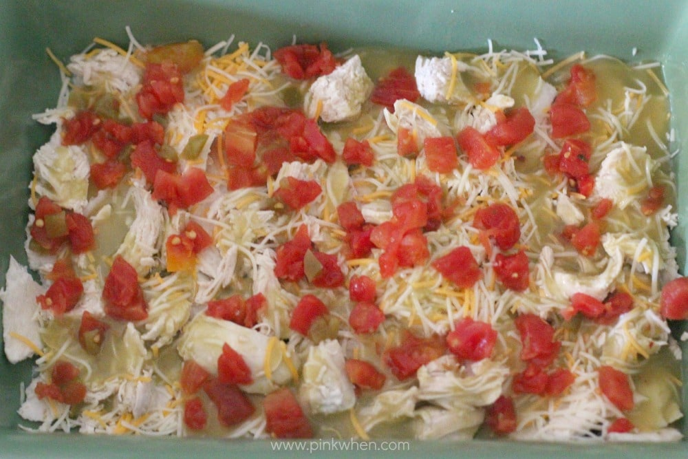 Cheesy Chicken Enchilada Casserole Recipe