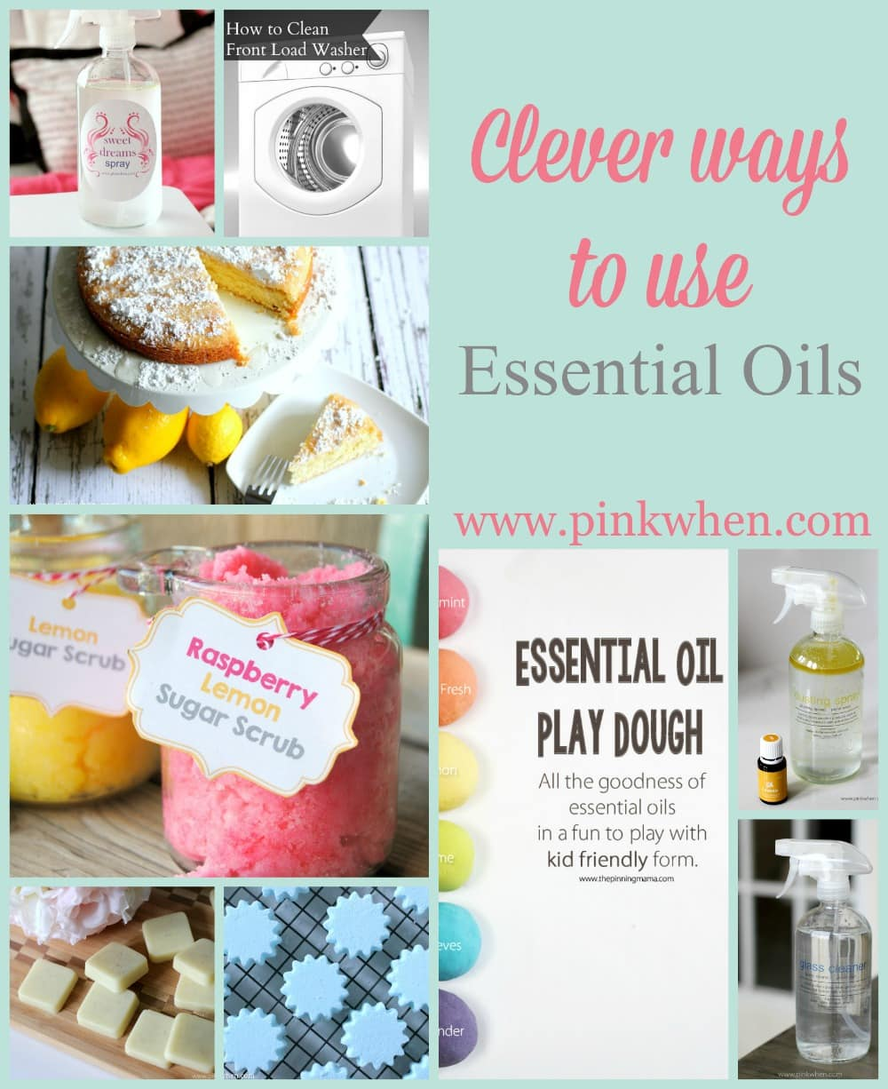 Clever ways to use essential oils