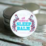 DIY All Natural Sleep Balm