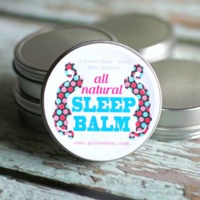 DIY All-Natural Sleep Balm