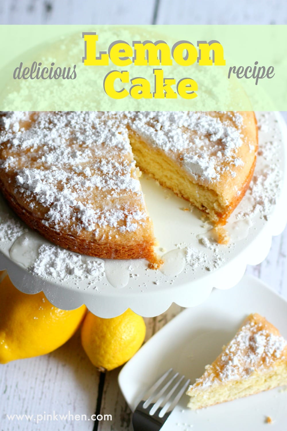 Edible Lemon Cake Decorations