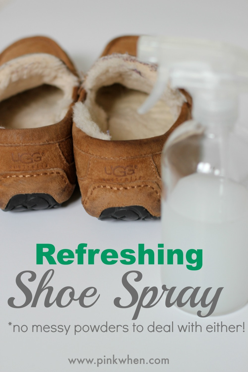 Refreshing Shoe Spray