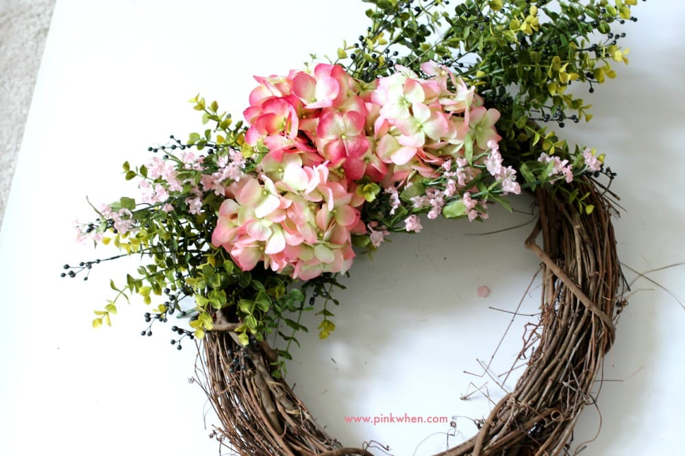 Spring Floral Outdoor Wreath