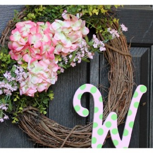 Spring Floral Outdoor Wreath