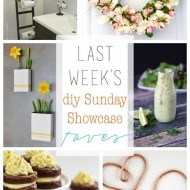 diy Sunday Showcase 4/4, and Favs!