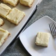 Creamy Lime Pie Square Bites