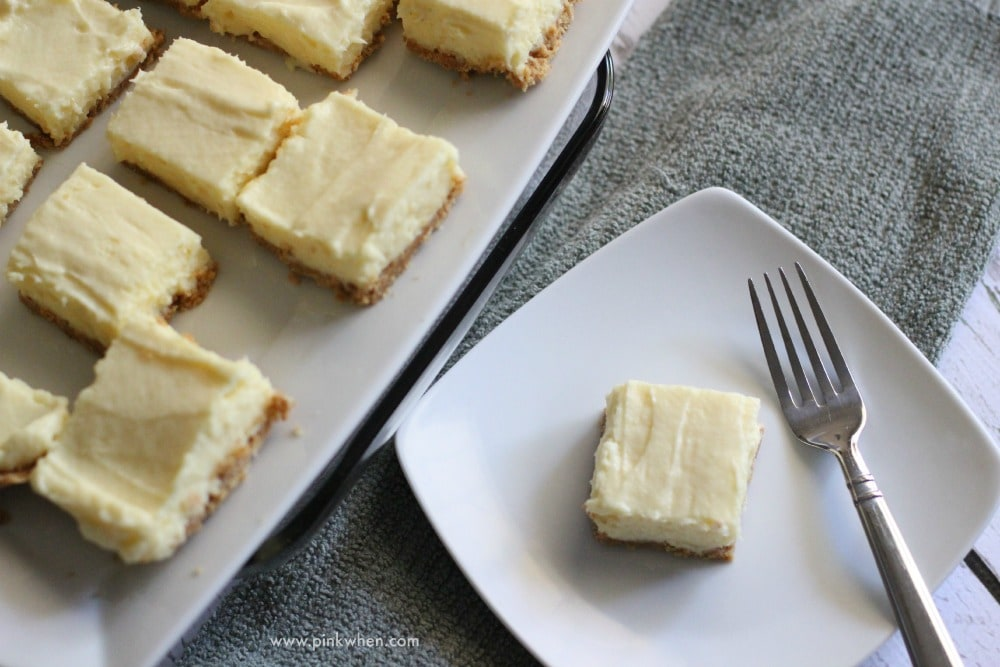 Creamy Lime Square Pie Bites