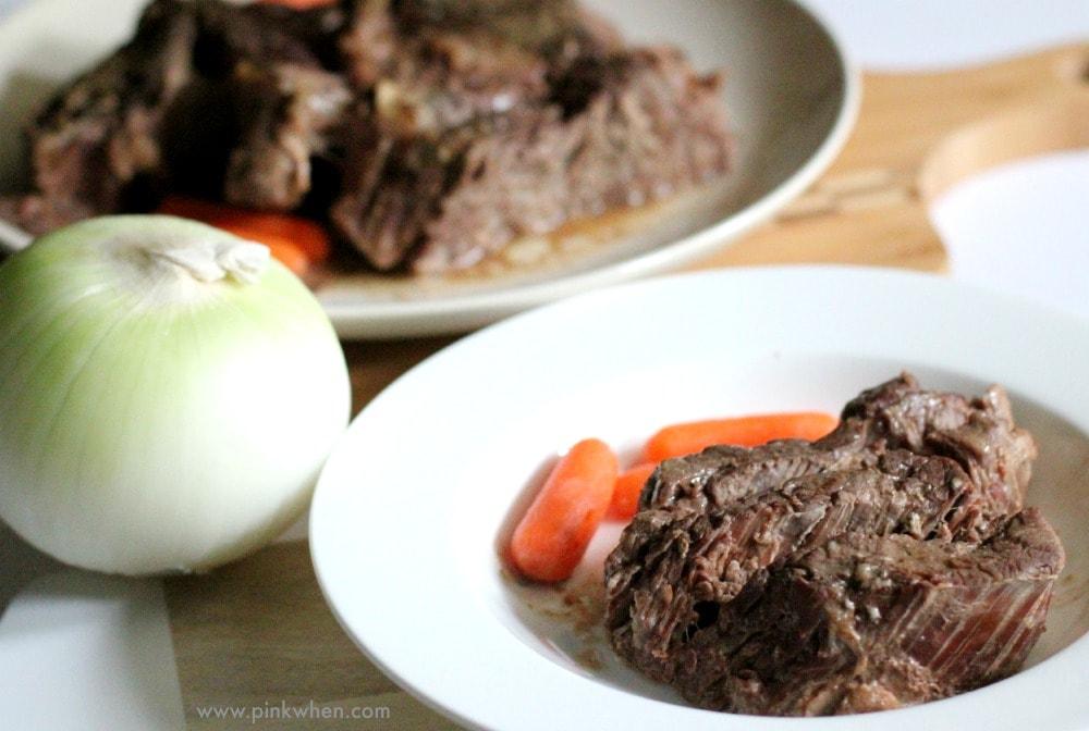 Easy 2 Ingredient Crock Pot Roast Recipe