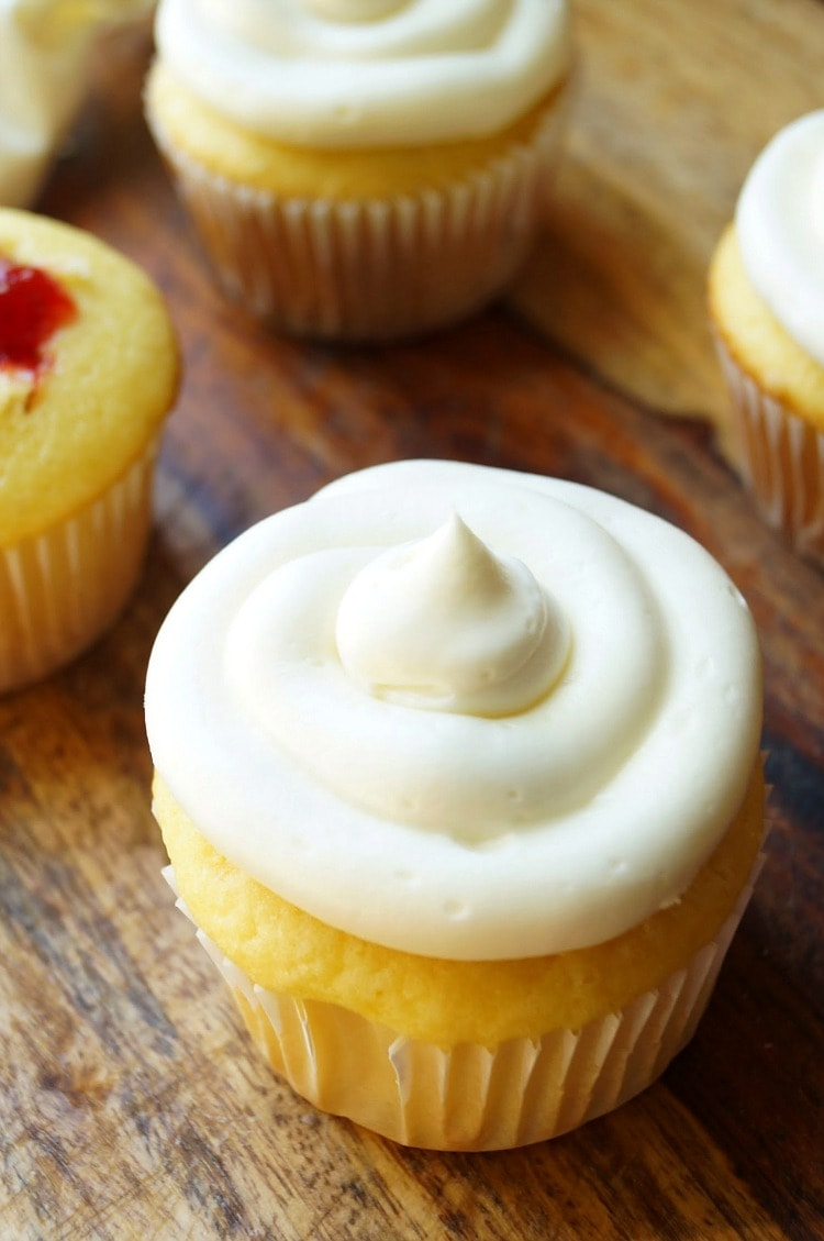 Filled Cupcakes Recipe