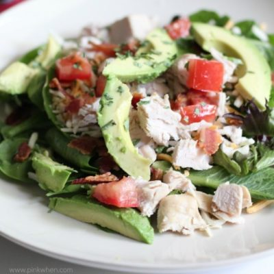 Turkey Avocado BLT Salad Recipe