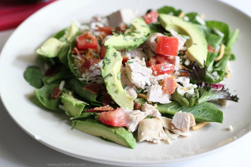 Whole 30 and Paleo Turkey Avocado BLT Salad