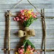 Found Stick Summer Wreath