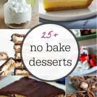25+ No Bake Dessert Ideas