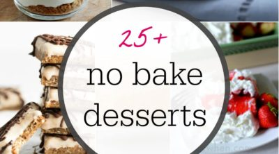 No Bake Dessert Ideas featured on Pink When