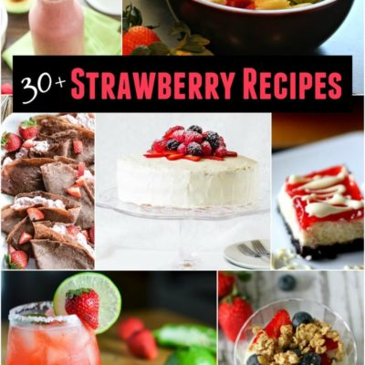 30+ Sensational Strawberry Recipes
