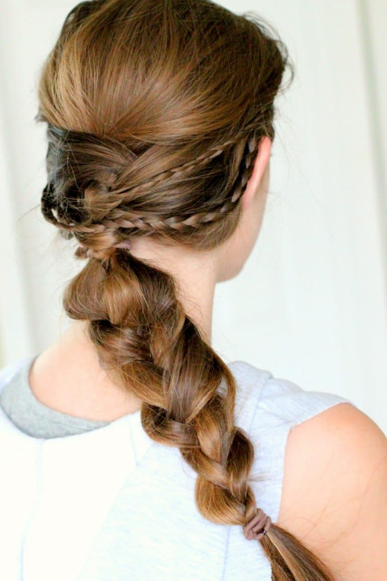 Summer Hairstyle How To : Braided summer hairstyle ideas pinkwhen