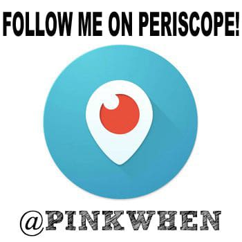 FOLLOW ME ON PERISCOPE - BUTTON