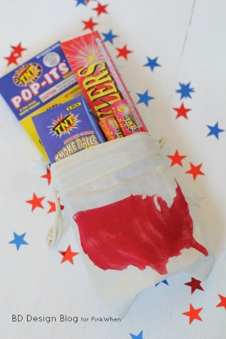 July 4th Firework bag