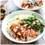 These barbecue chicken cauliflower couscous bowls are not only delicious, but healthy and easy to make!