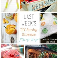 diy Sunday Showcase 7/18, & FAVS!