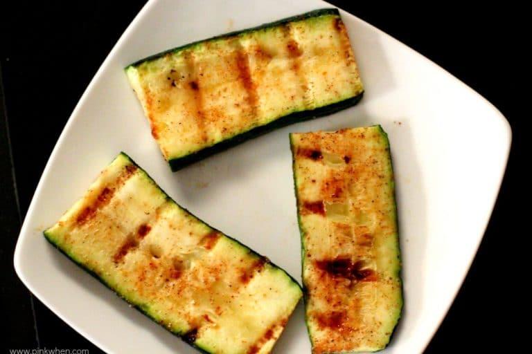 Grilled Zucchini Recipe www.pinkwhen.com