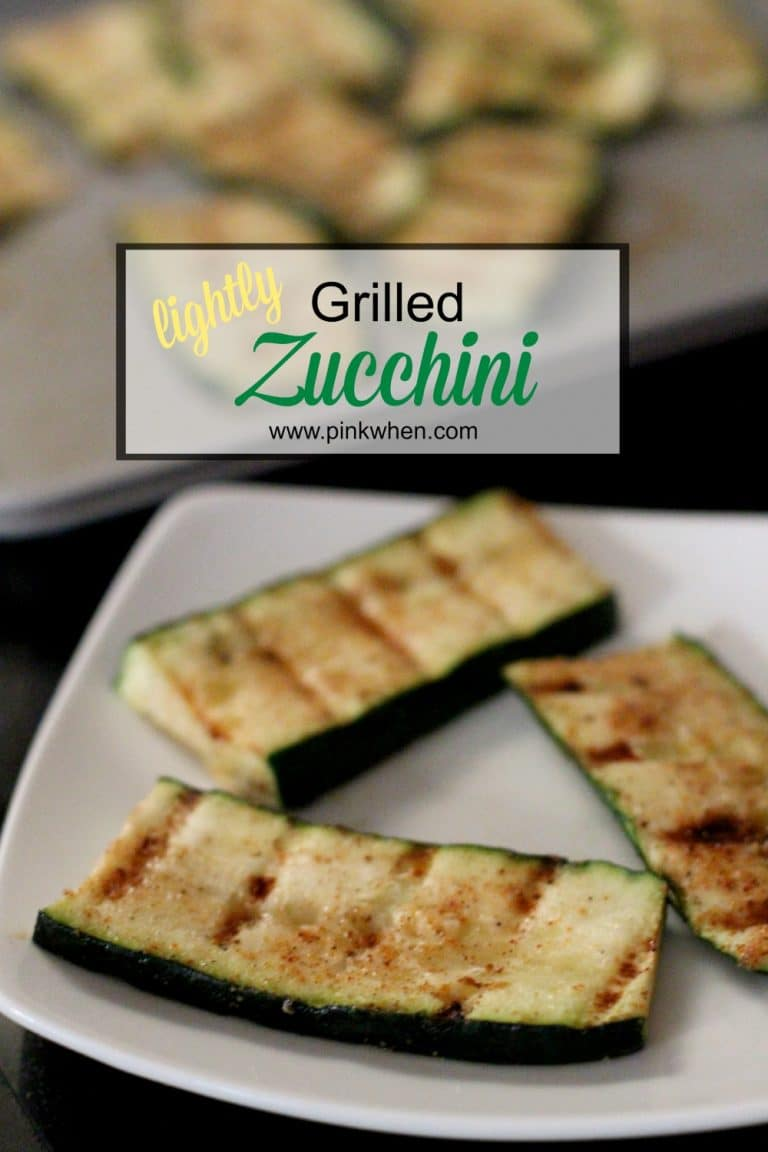Lightly Grilled Zucchini recipe