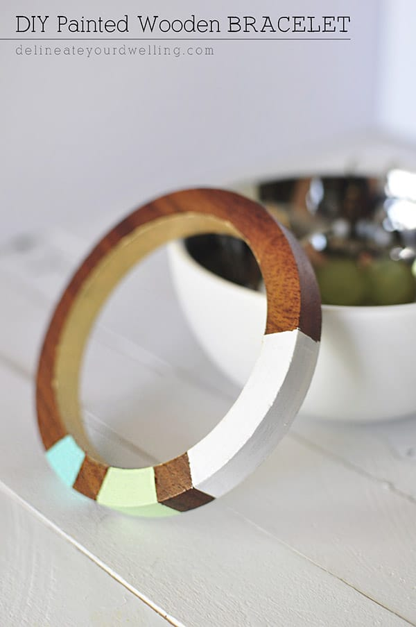 Painted-Wooden-Bracalet