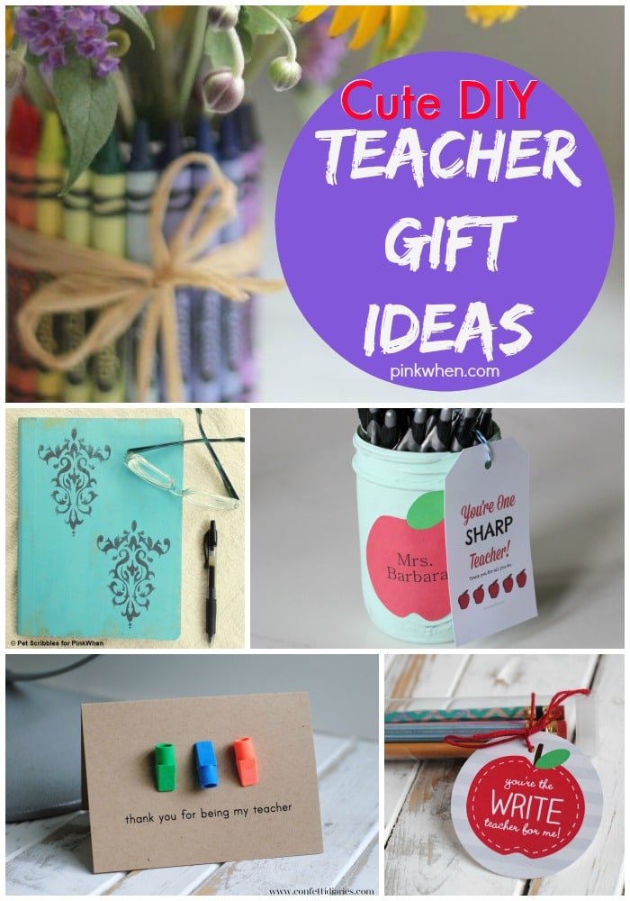 Teacher Gift Ideas www.pinkwhen.com