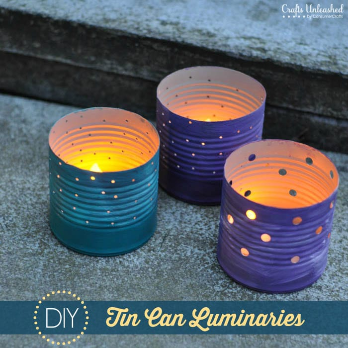 Diy sunday showcase 7 4 favs pinkwhen for Tin cans for crafts