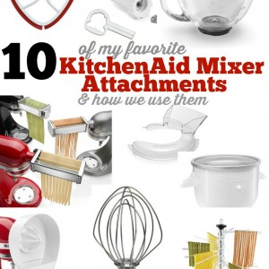 10 Favorite KitchenAid Mixer Accessories & how to use them pinkwhen