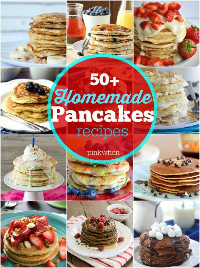 50+ Homemade Pancakes